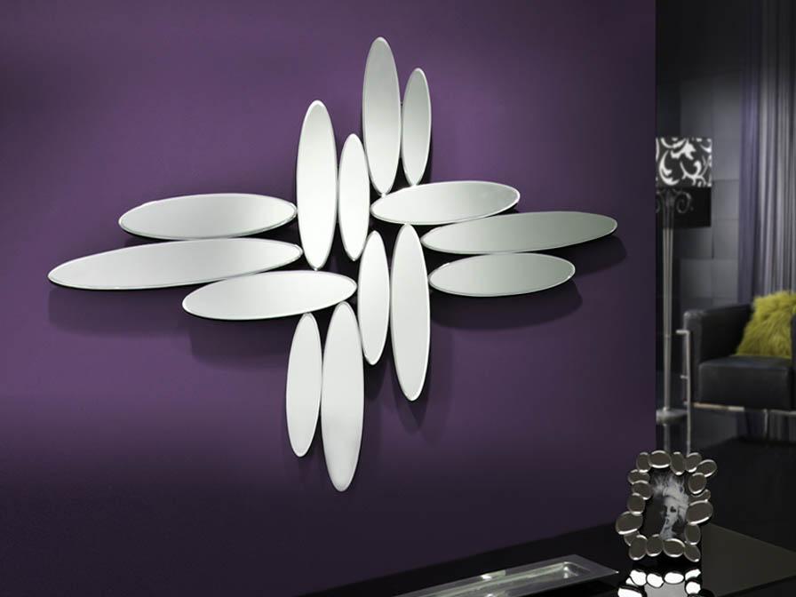 Domo miroir argent schuller 19 2815 abonomobels meubles de luxe meubles luxembourg - Domo meuble ...