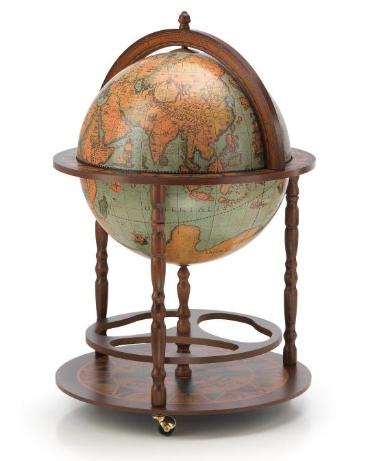zoffoli globe terrestre et bar vintage abonomobels meubles de luxe meubles luxembourg. Black Bedroom Furniture Sets. Home Design Ideas