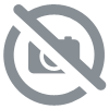 BROOKPACE LASCELLES Square Tin Wall Clock, Bistro Design - 31cm